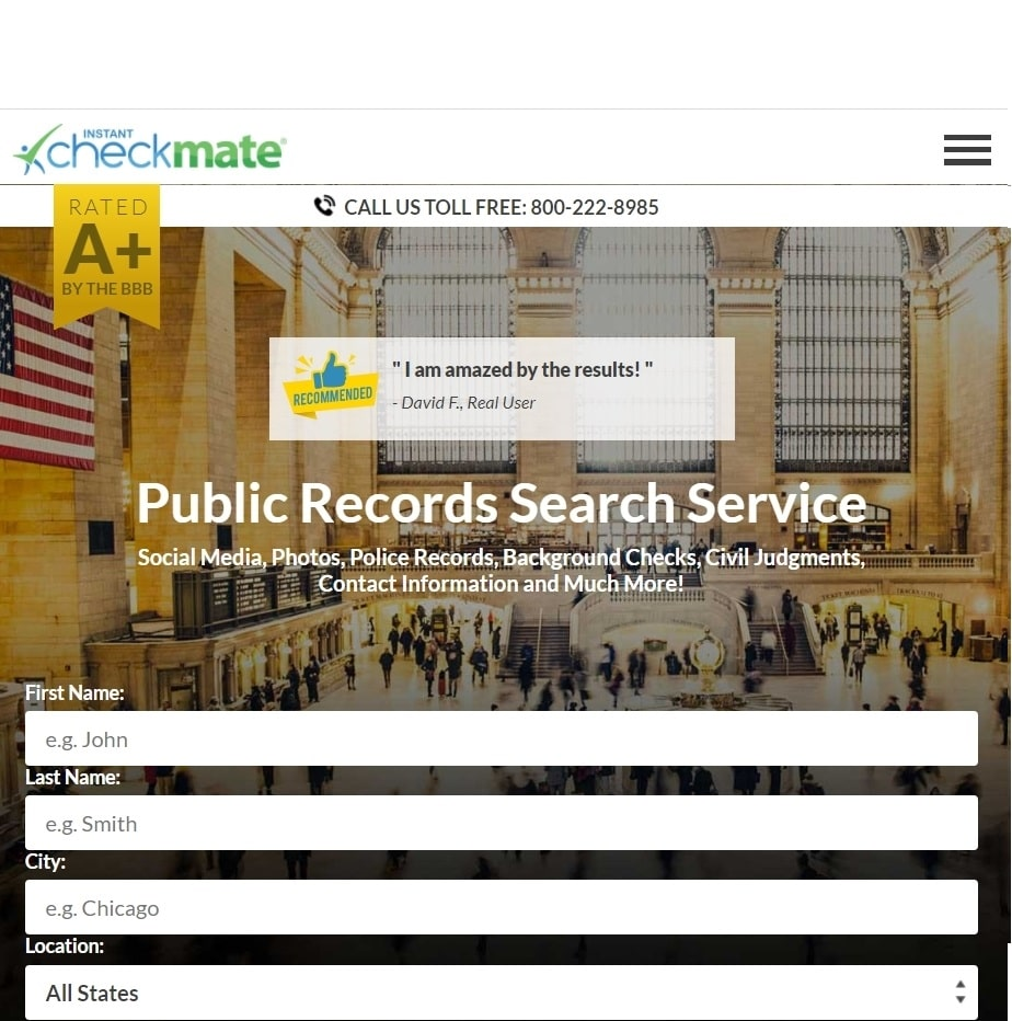 Best Background Check for Dating - Instant Checkmate review