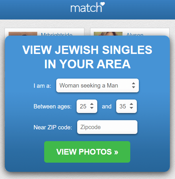 Best Jewish Dating Sites - match.com logo