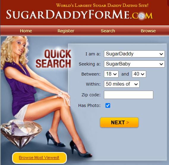 Best Sugar Daddy Sites - SugarDaddyForMe review