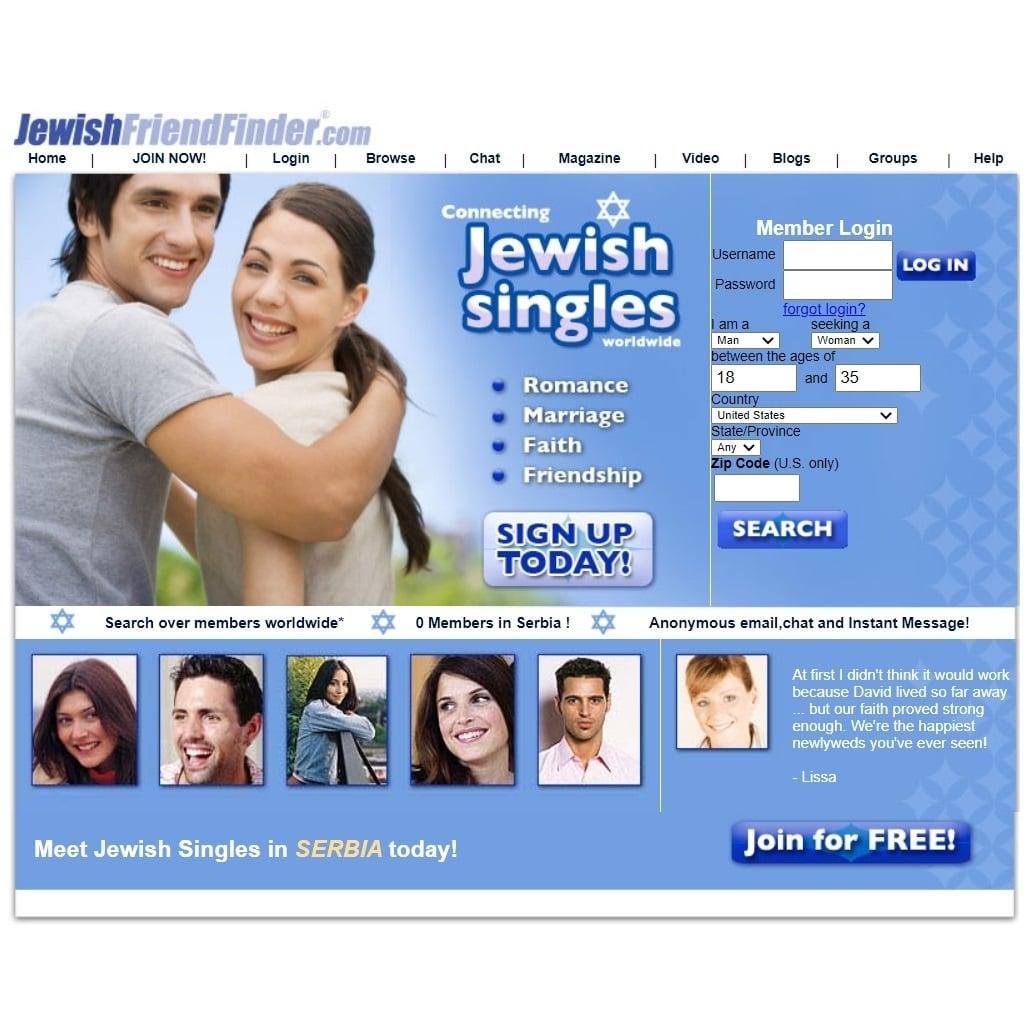 Best Jewish Dating Sites - Jewish Friend Finder review