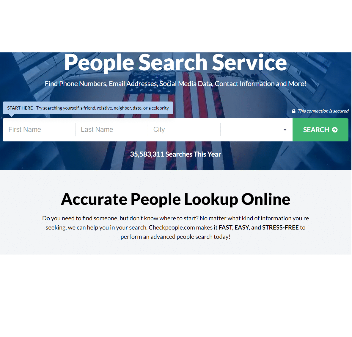 Best Background Check for dating - CheckPeople review