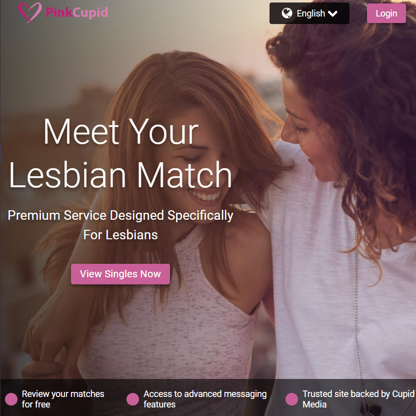 Best lesbian dating sites - pink cupid review