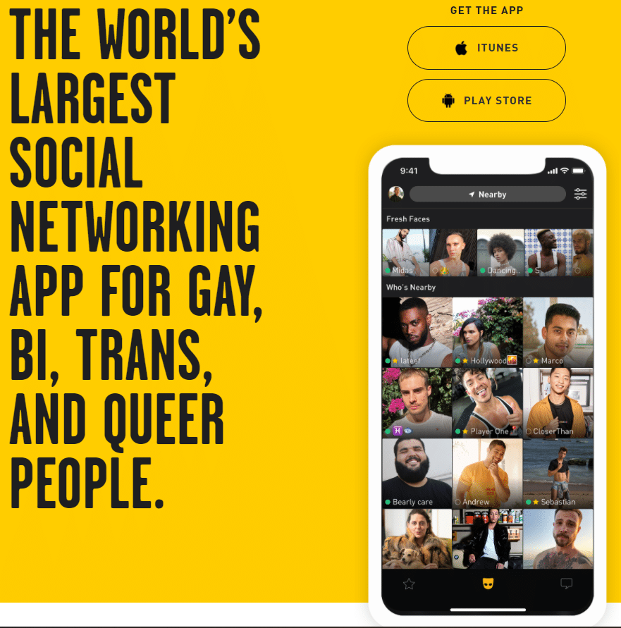 best gay dating sites - grindr review