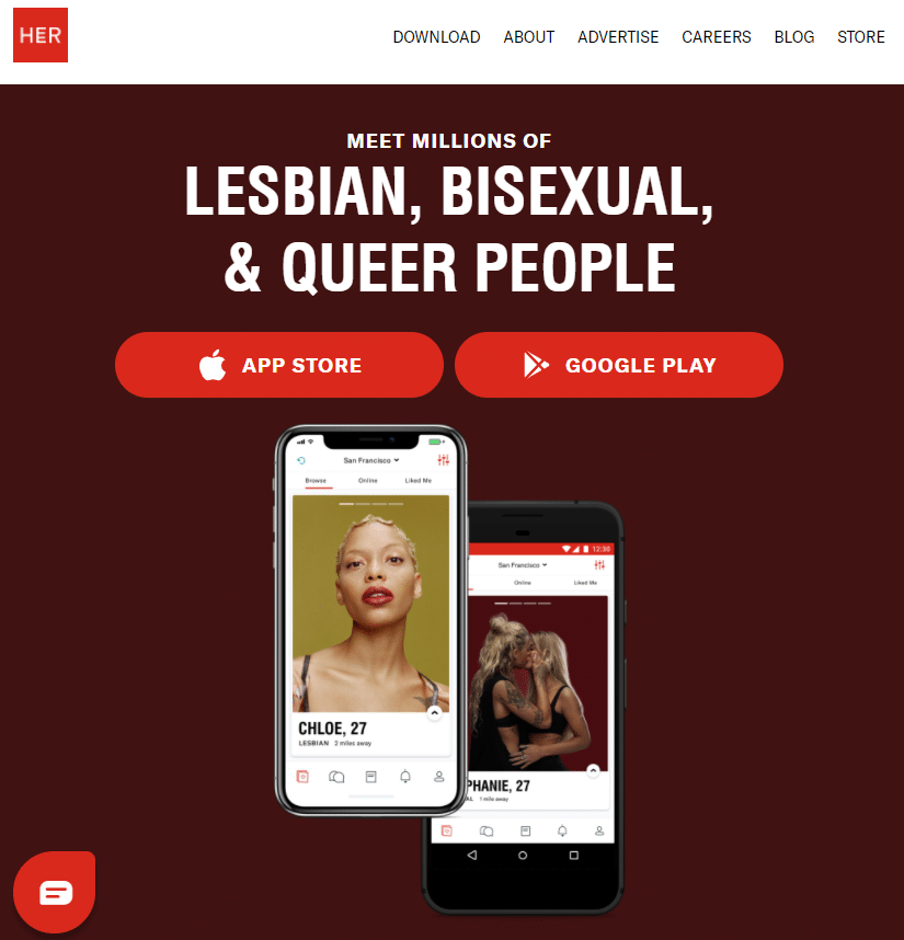Best lesbian dating sites - her review