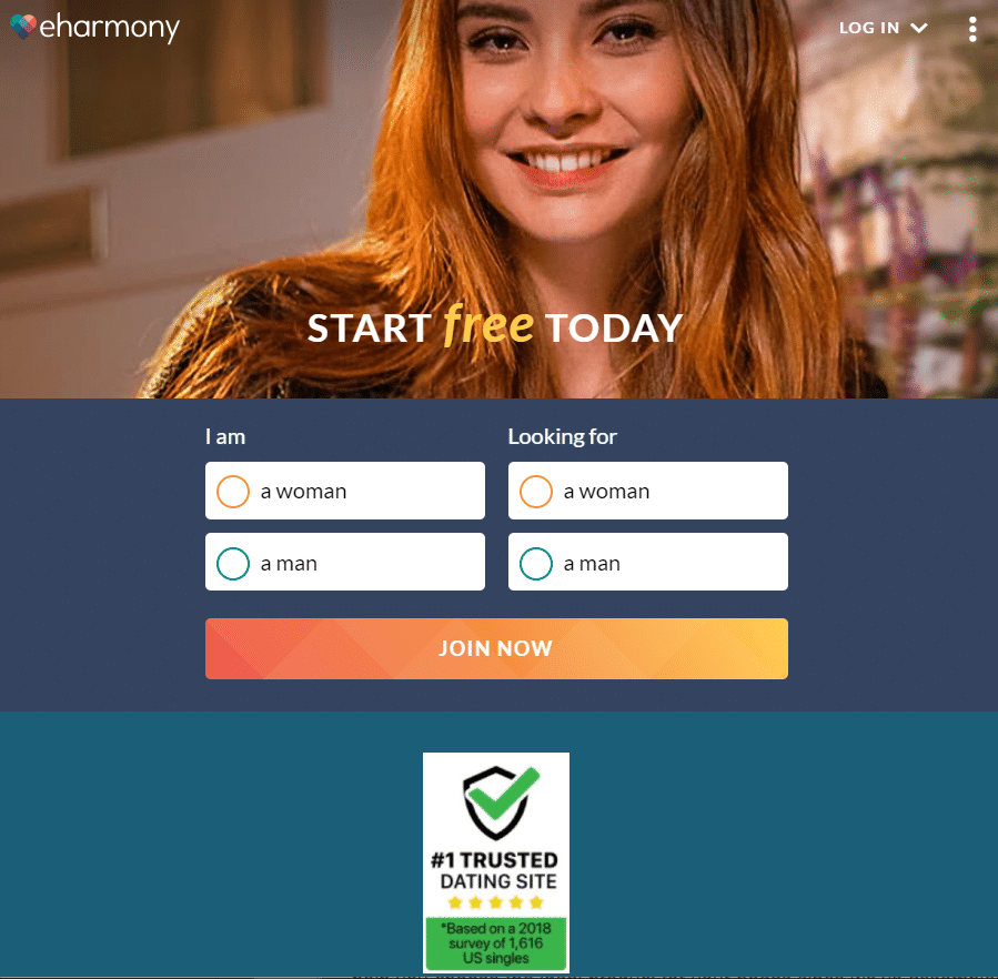 Best lesbian dating sites - eharmony review