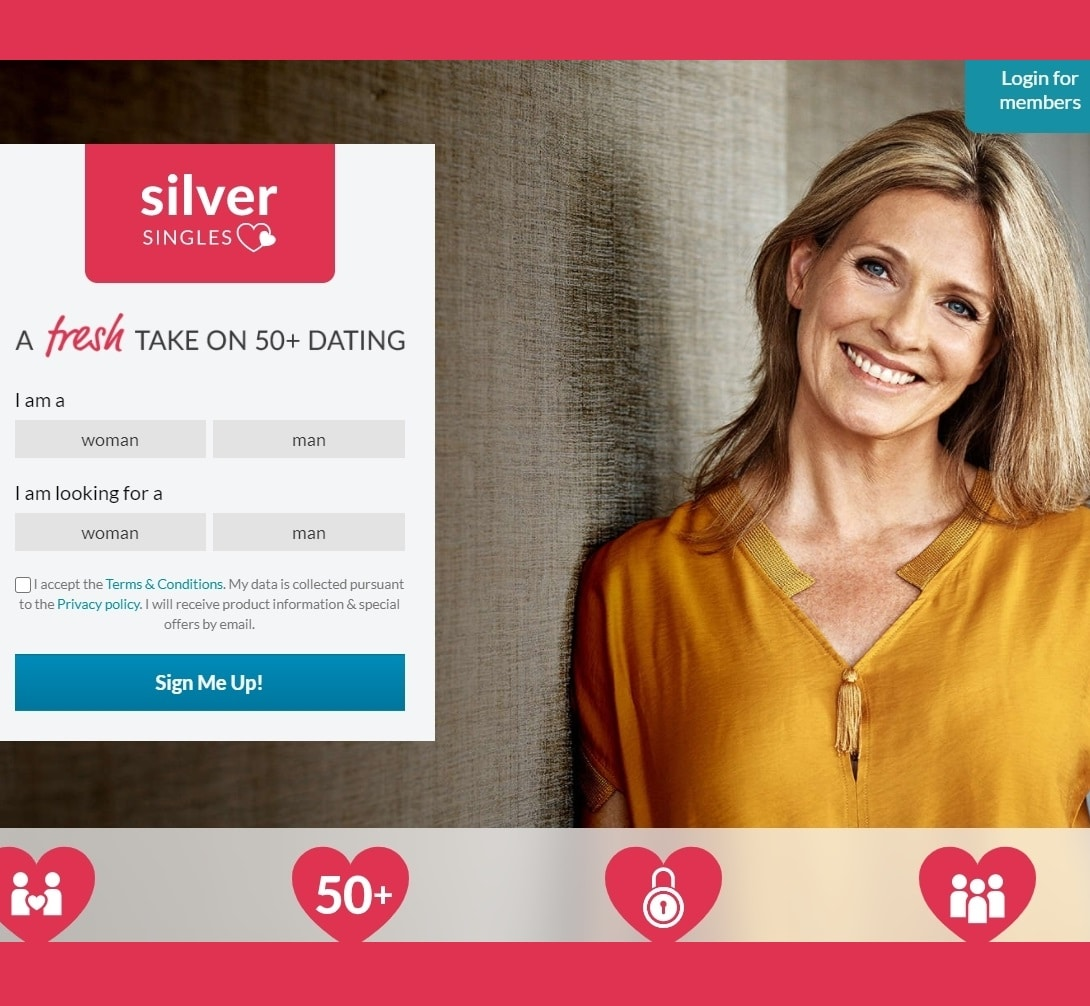 best dating sites for seniors - silver singles review